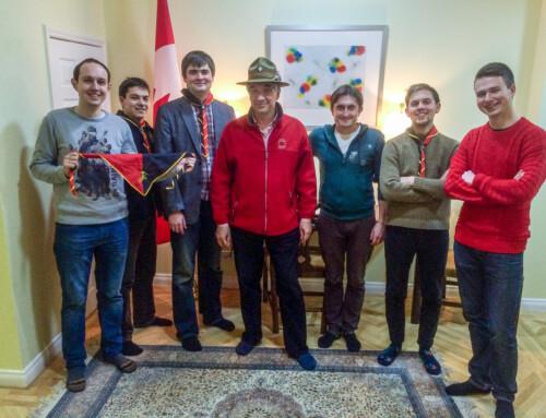 Фаміліянти у Києві зустрілись із Послом Канади в Україні Романом Ващуком