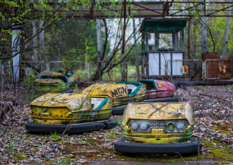 Парк атракціонів у Прип'яті